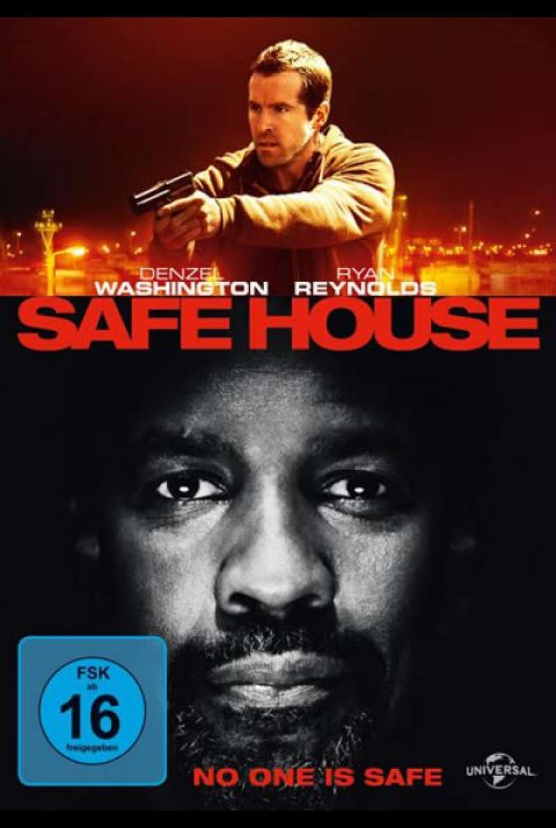 Safe House - DVD-Cover