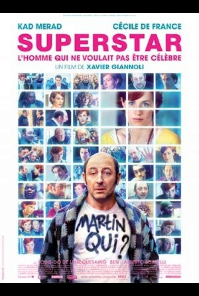 Superstar - Filmplakat (FR)