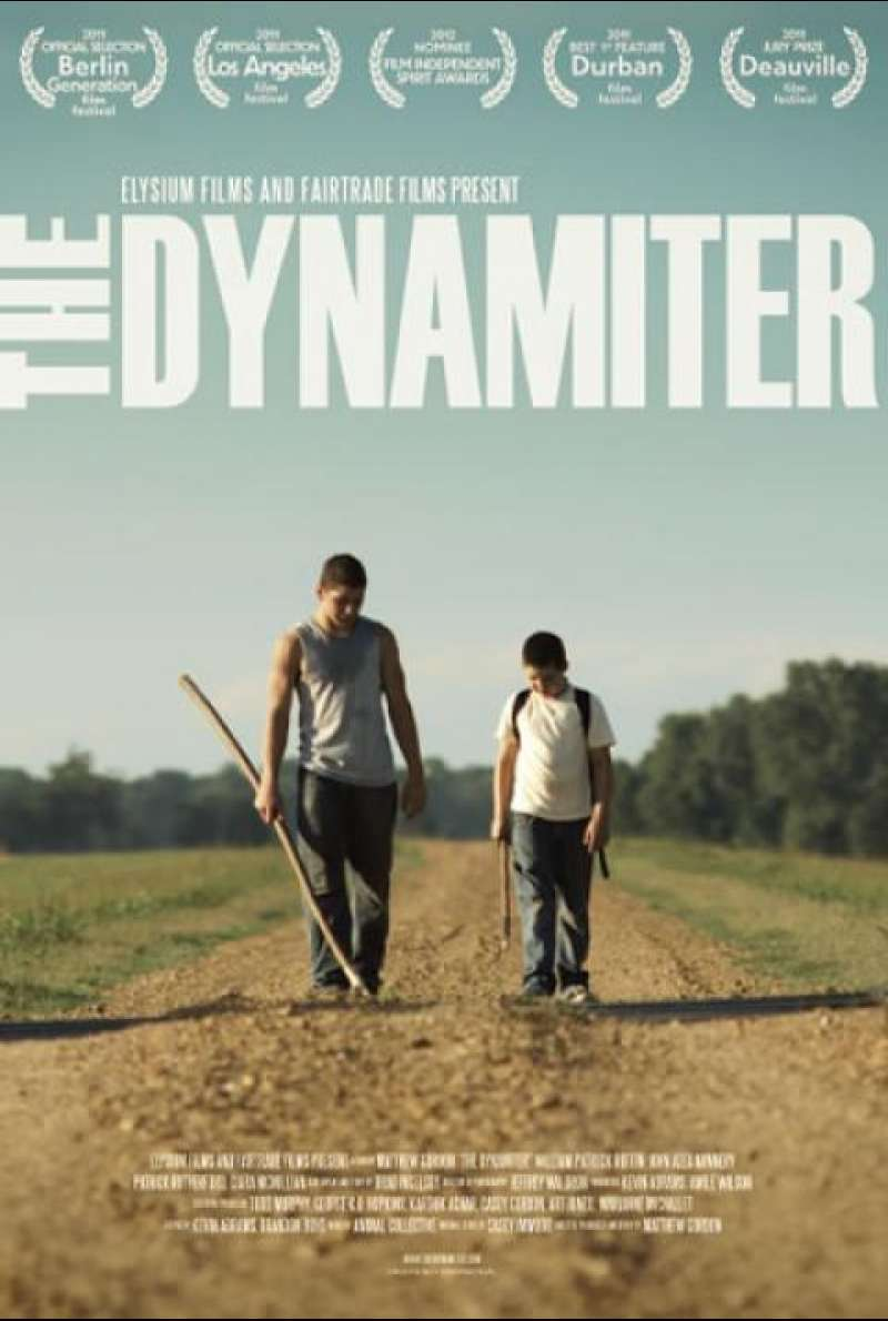 The Dynamiter - Filmplakat (US)