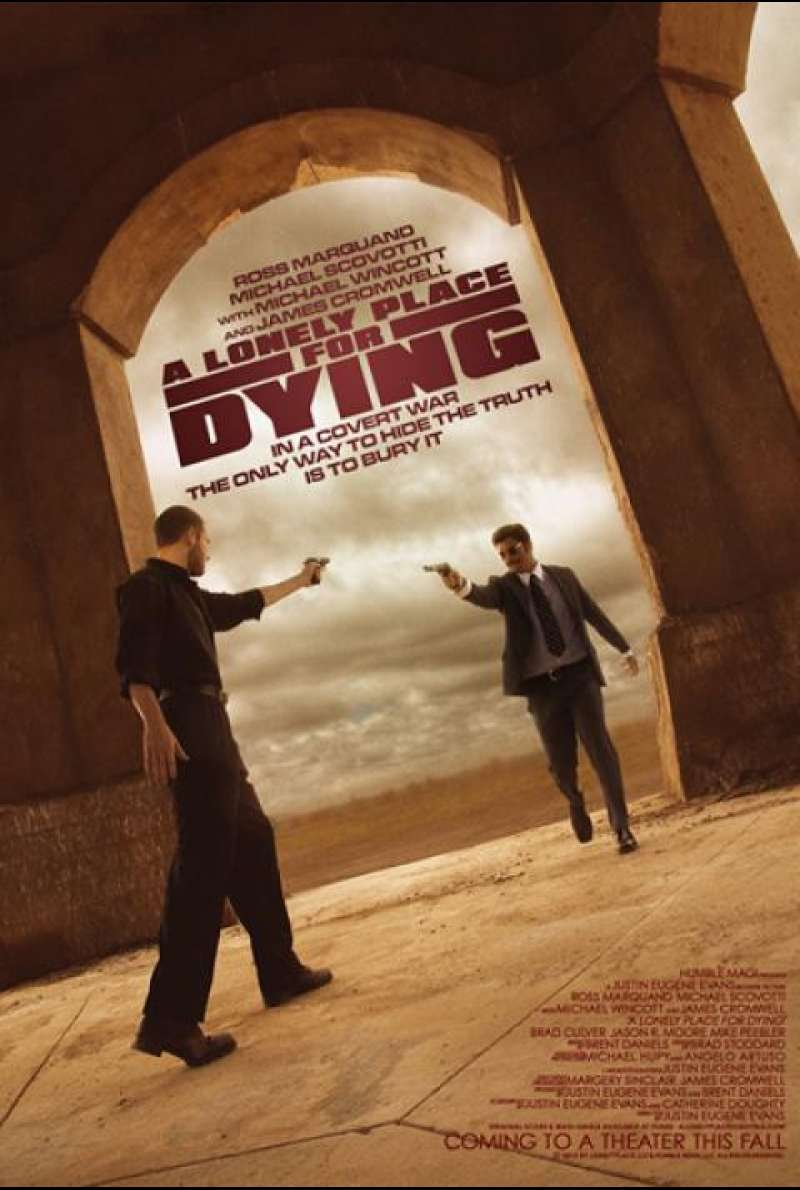 A Lonely Place for Dying - Filmplakat (US)
