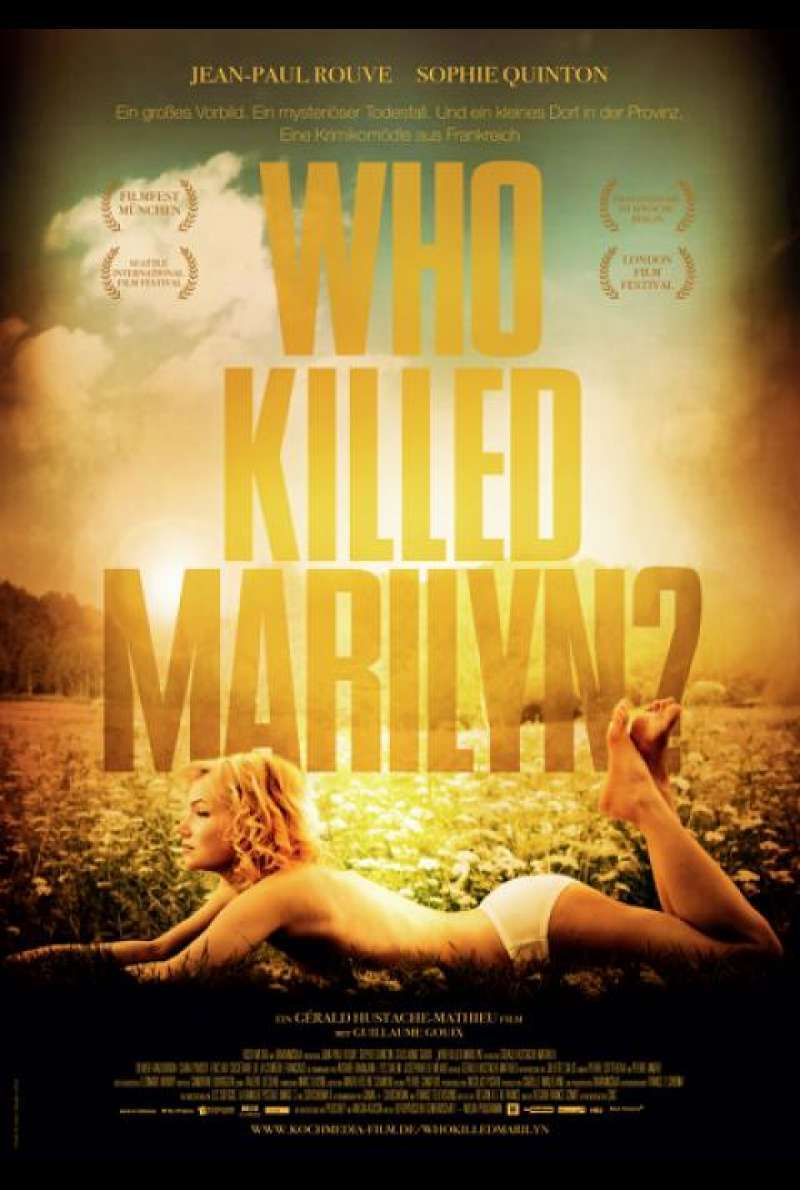 Who Killed Marilyn? - Filmplakat