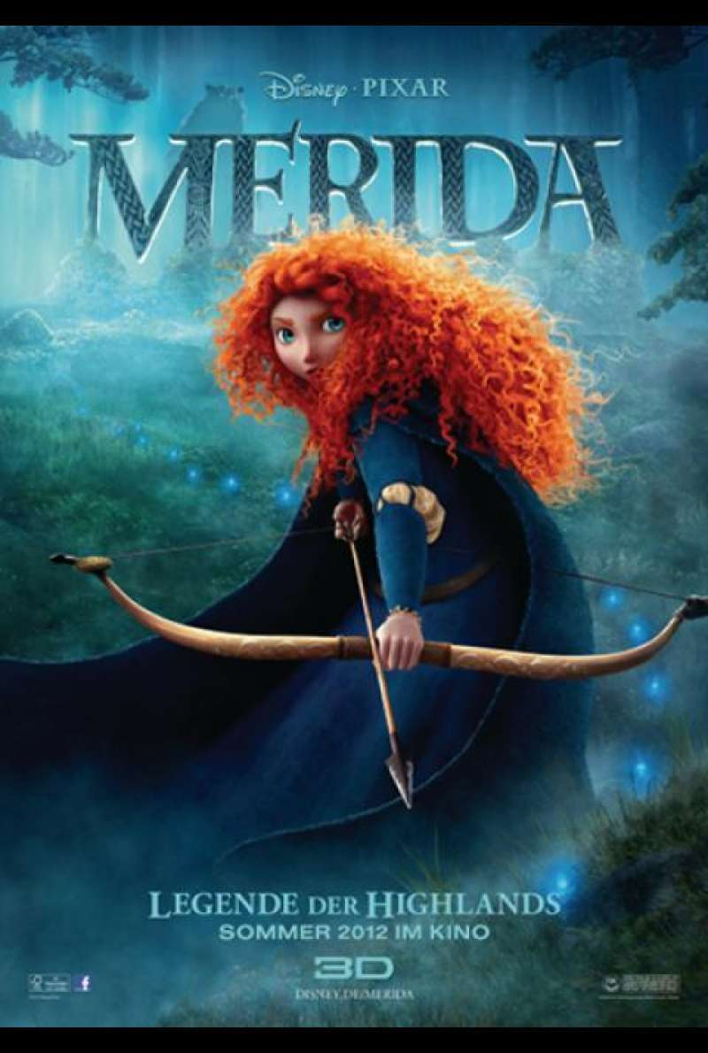 Merida - Legende der Highlands - Teaserplakat