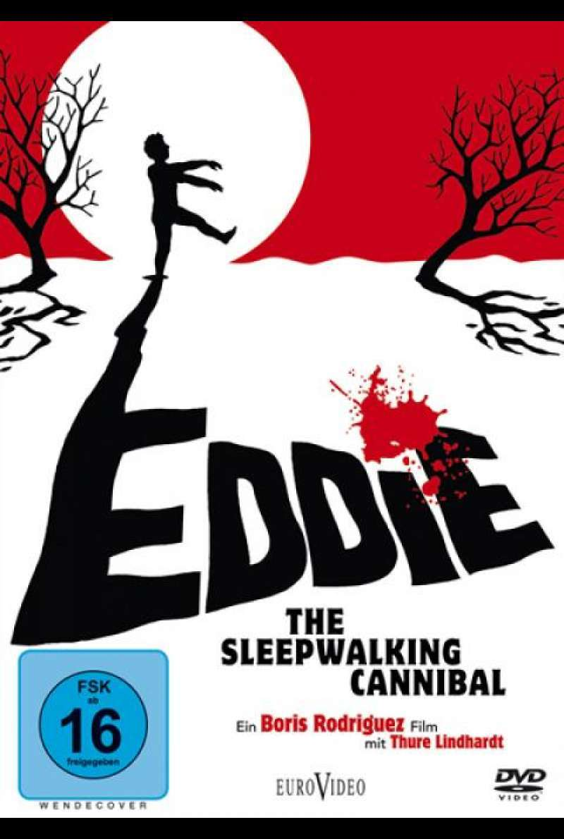 Eddie: The Sleepwalking Cannibal - DVD-Cover