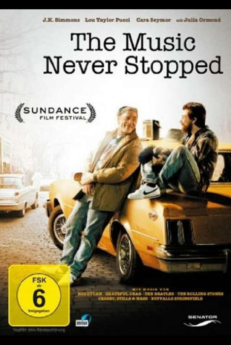 The Music Never Stopped - DVD-Cover