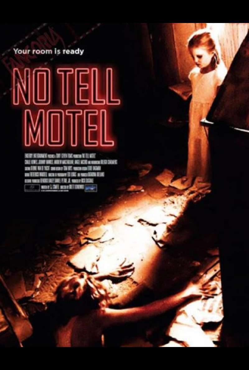 No Tell Motel - Filmplakat (US)