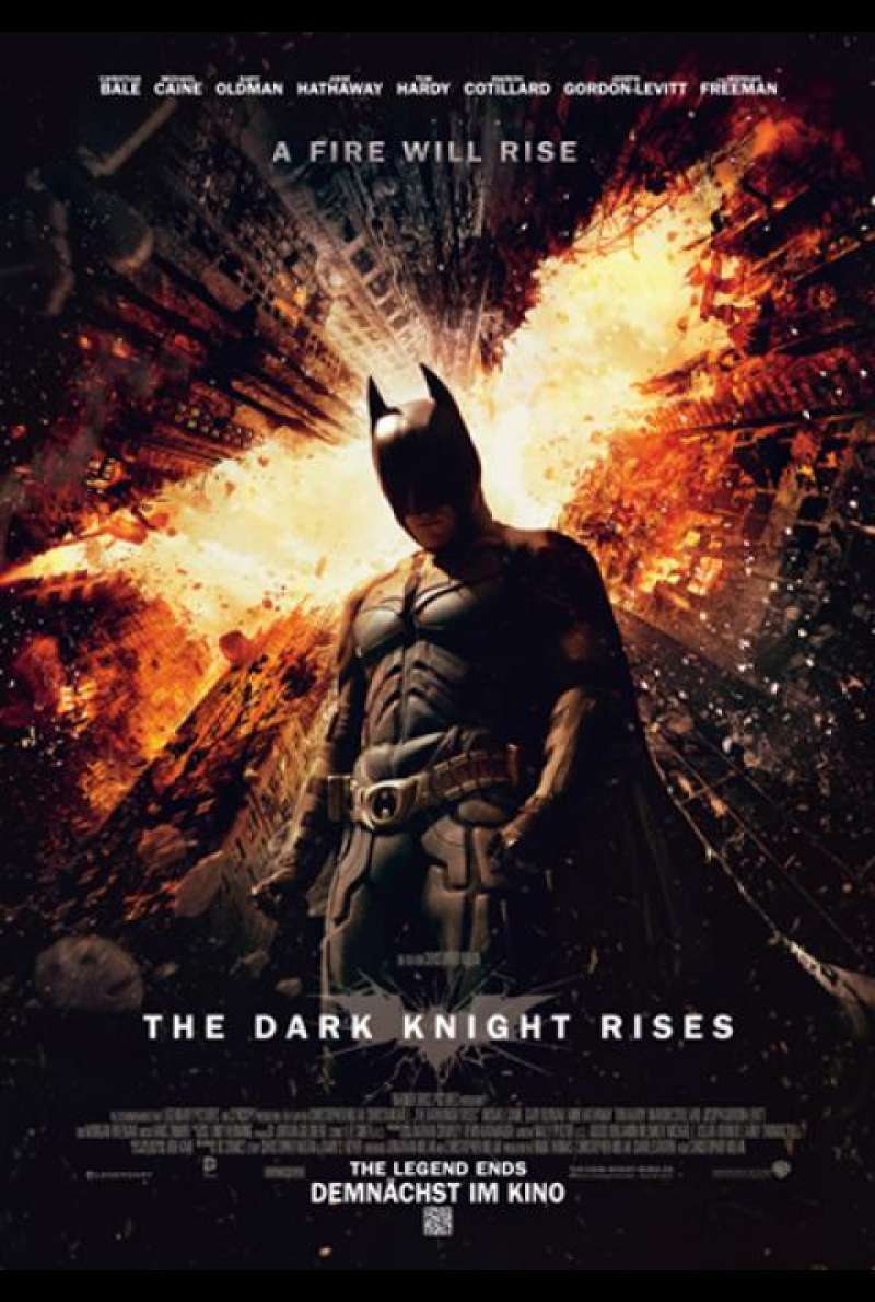 The Dark Knight Rises - Filmplakat