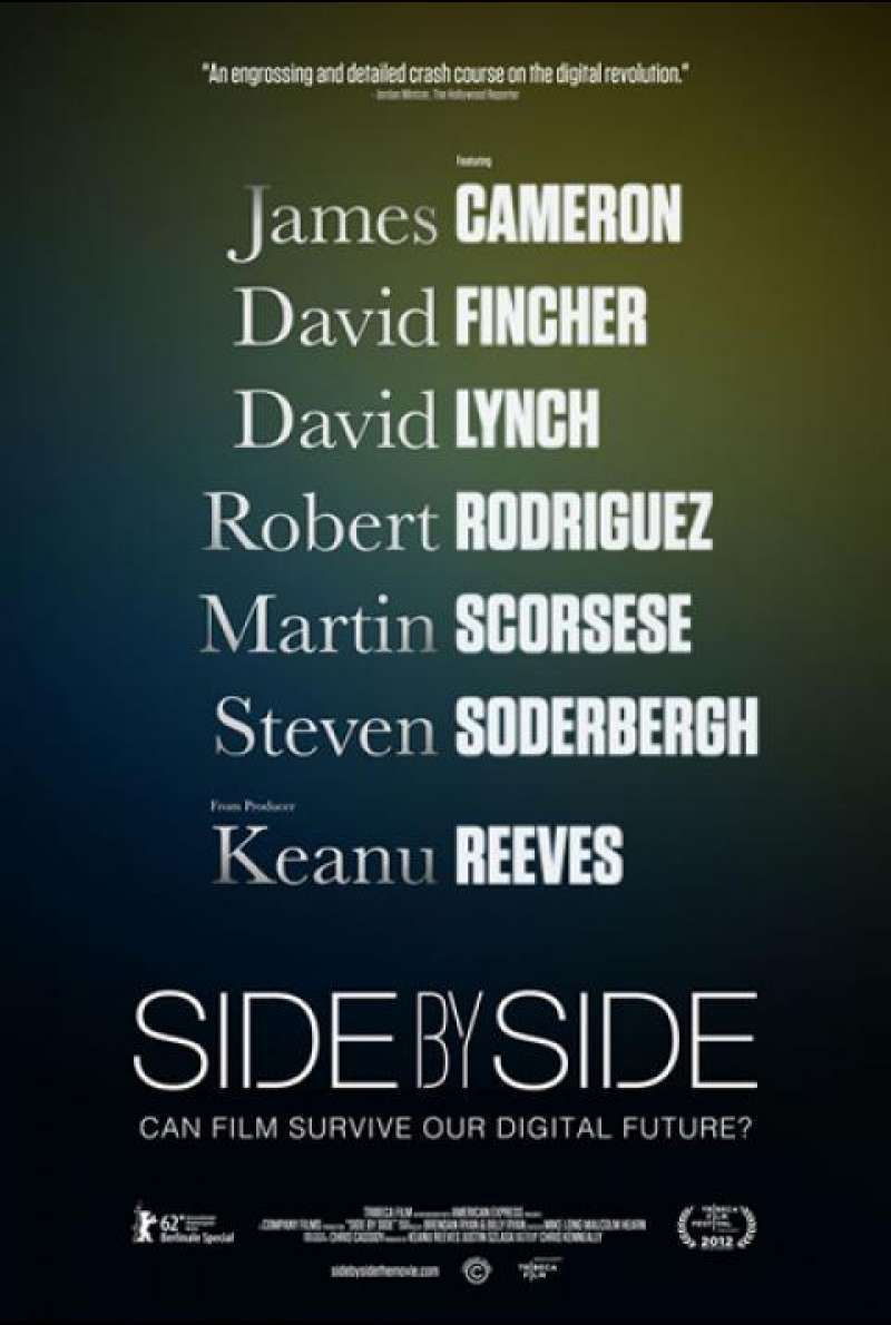 Side by Side - Filmplakat (US)