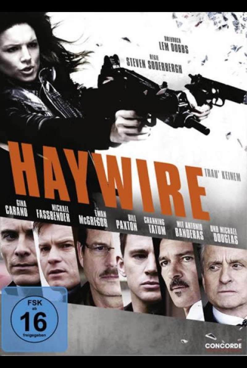 Haywire - DVD-Cover