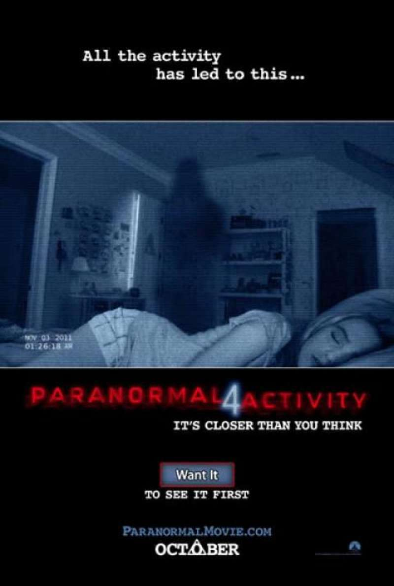 Paranormal Activity 4 - Teaser (US)