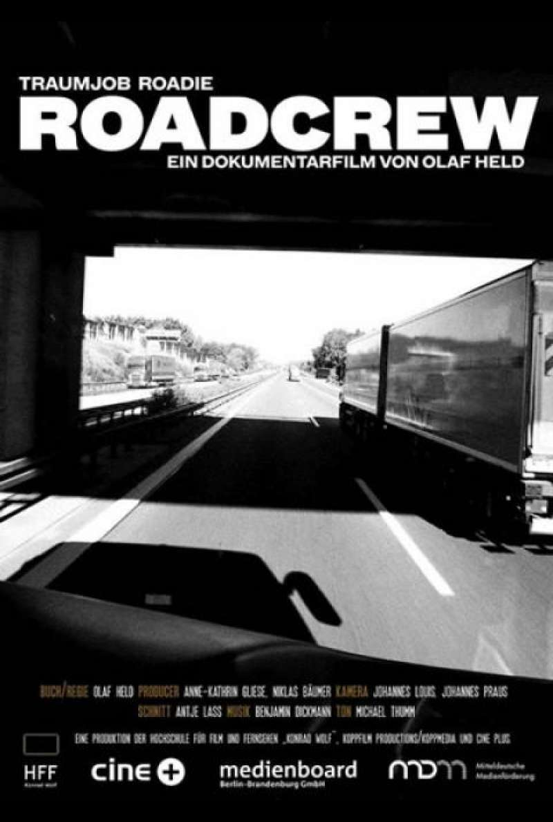 Roadcrew - Filmplakat (D)