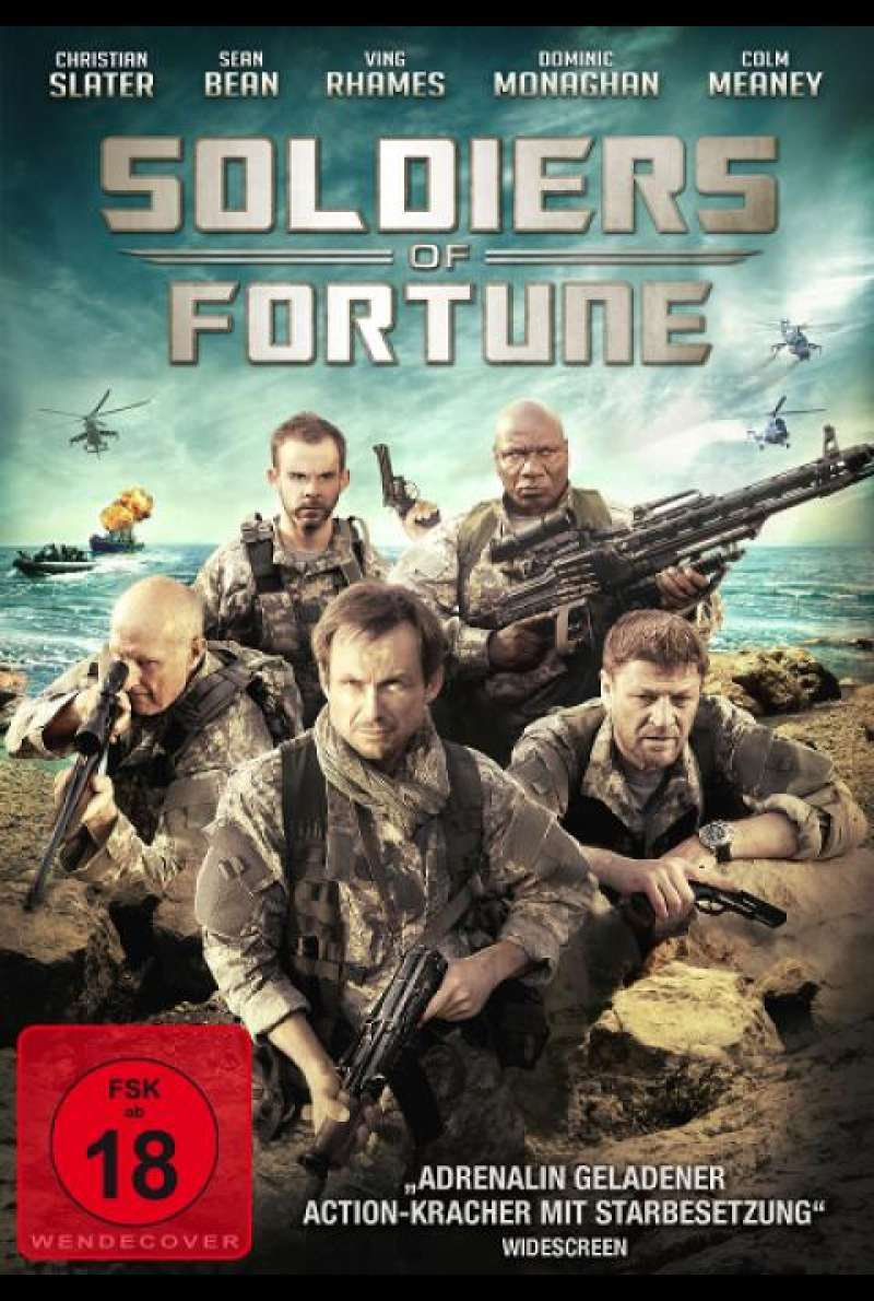 Soldiers of Fortune - DVD-Cover
