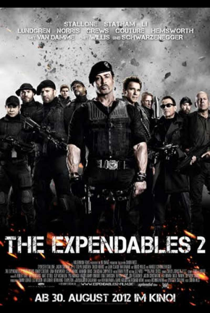 The Expendables 2 - Filmplakat