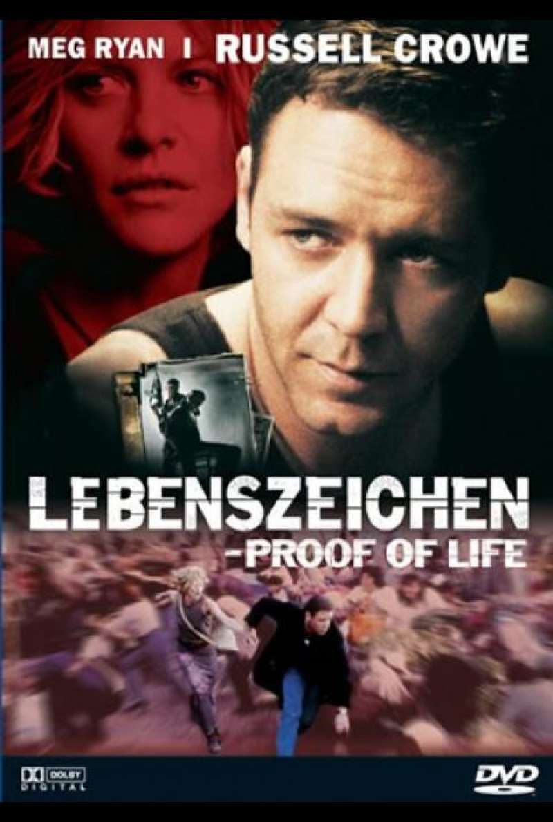 Lebenszeichen - Proof of Life - DVD-Cover