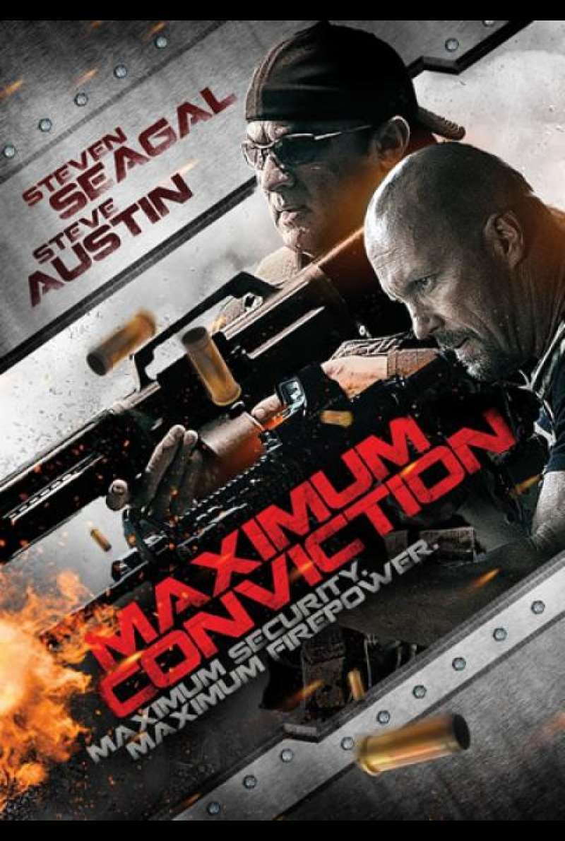 Maximum Conviction - Filmplakat (USA)