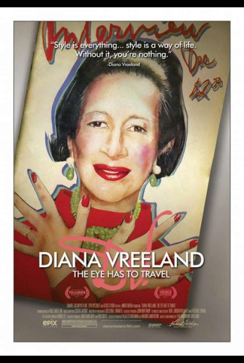 Diana Vreeland: The Eye Has to Travel - Filmplakat (INT)