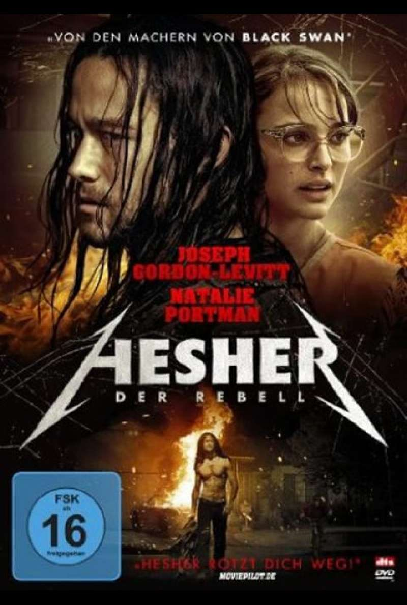 Hesher - DVD-Cover