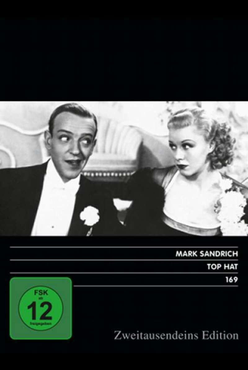 Top Hat - DVD-Cover