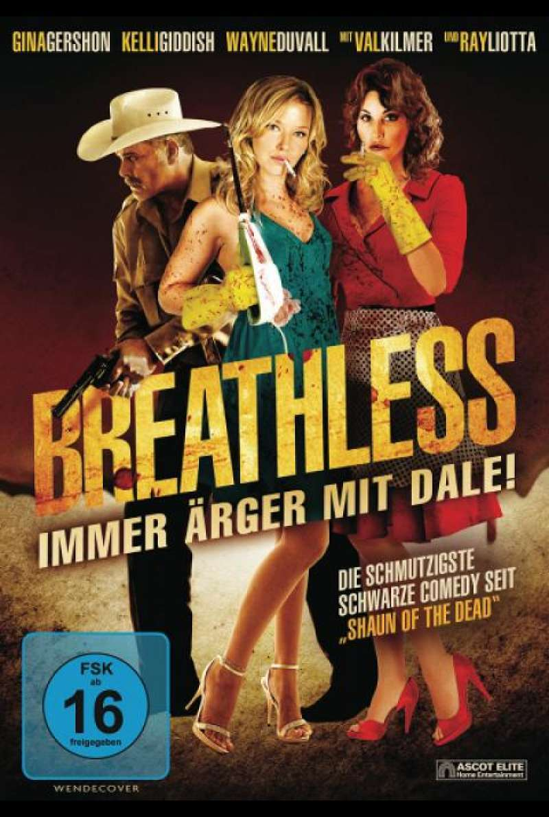 Breathless - DVD-Cover