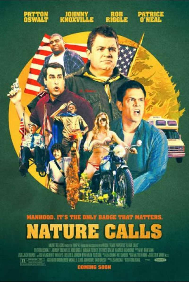Nature Calls - Filmplakat (USA)