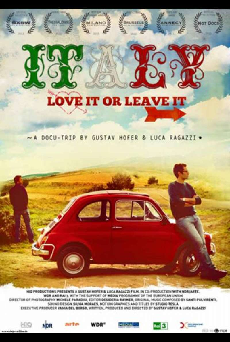 Italy: Love It or Leave It - Filmplakat (INT)