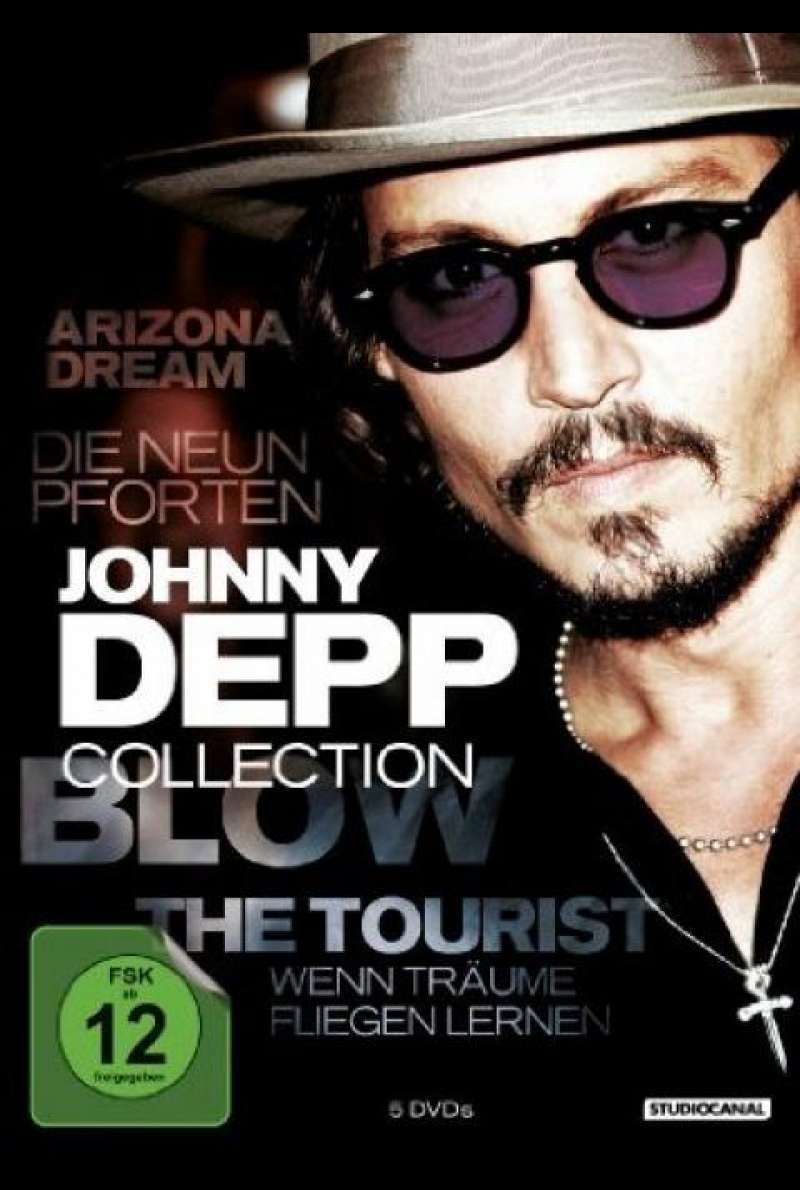 Johnny Depp Collection - DVD-Cover