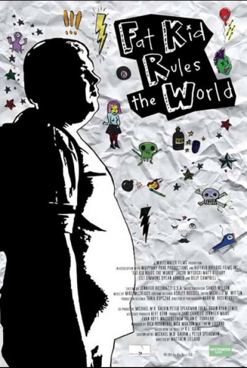 Fat Kid Rules the World - Filmplakat (US)