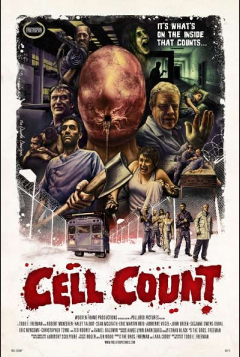 Cell Count - Filmplakat (USA)