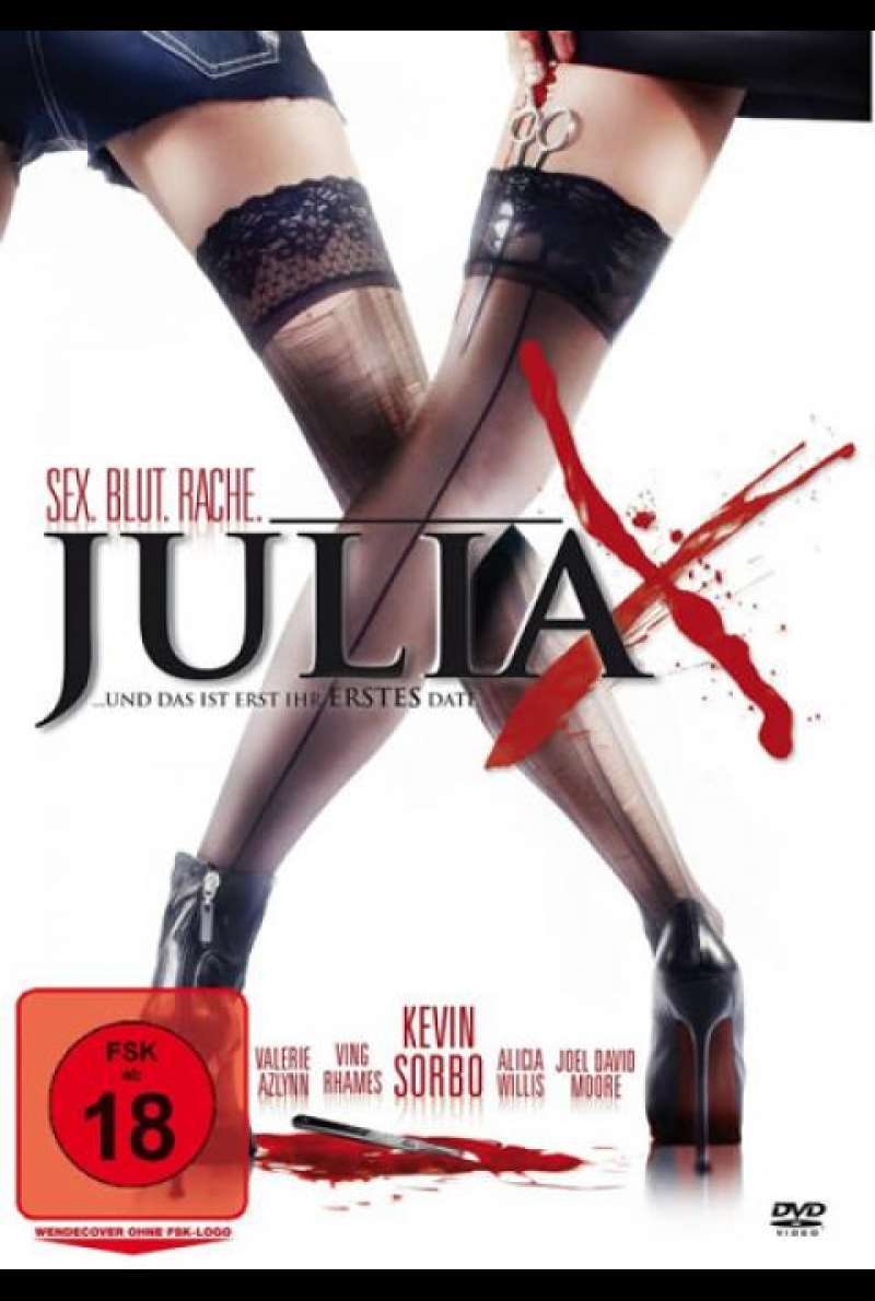 Julia X 3D - DVD-Cover