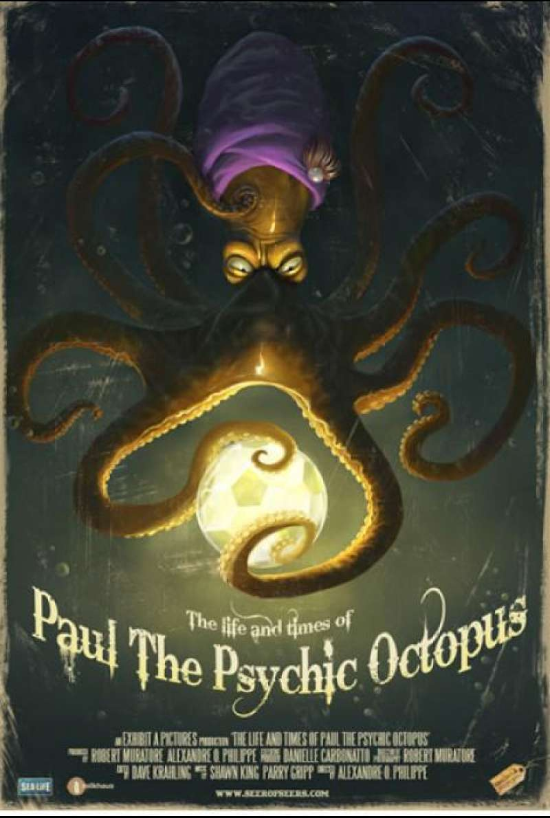 The Life and Times of Paul the Psychic Octopus - Filmplakat