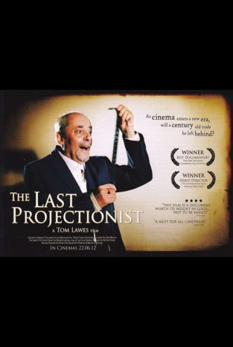 The Last Projectionist - Quad (UK)