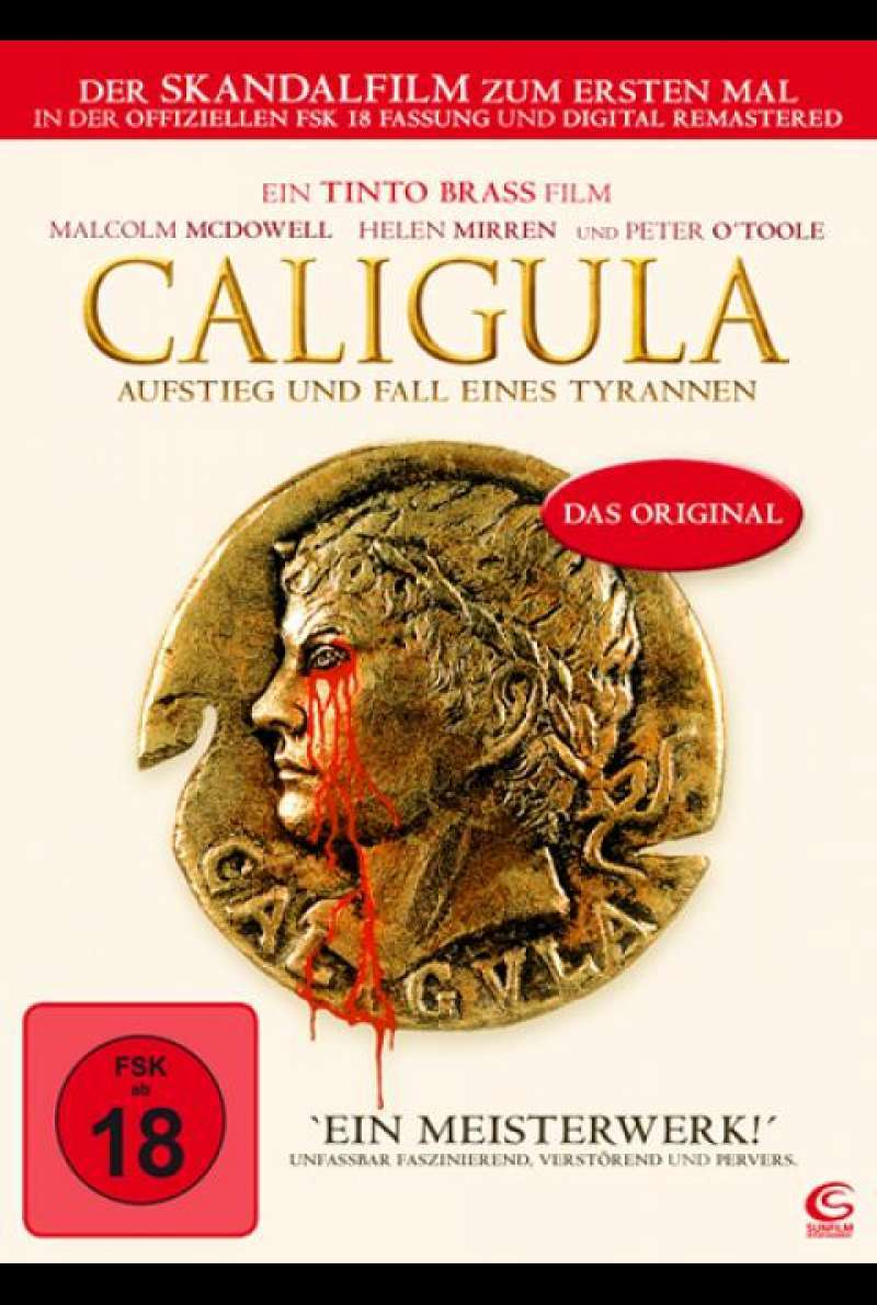 Caligula - DVD-Cover