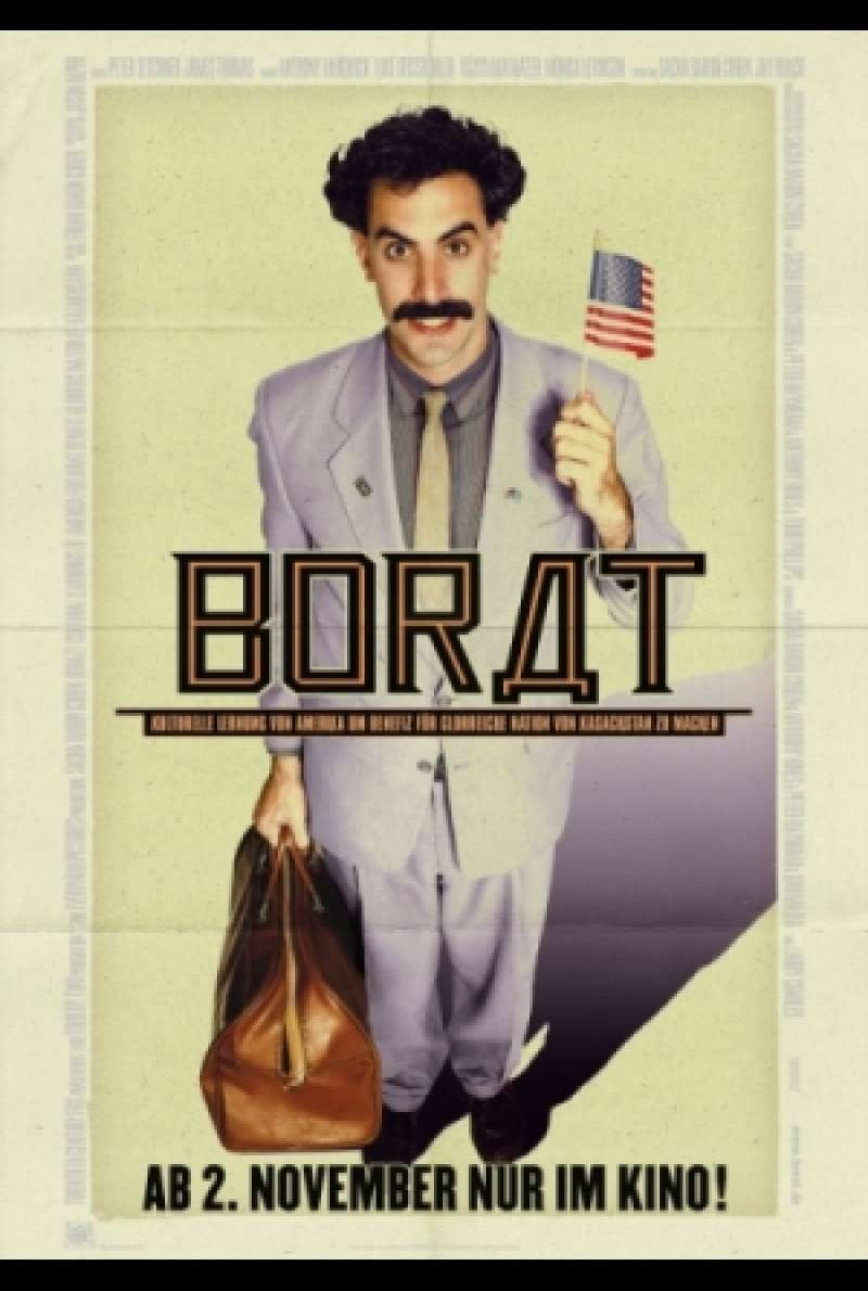 Filmplakat zu Borat / Borat - Cultural Learnings of America for Make Benefit Glorious Nation of Kazakhstan von Larry Charles