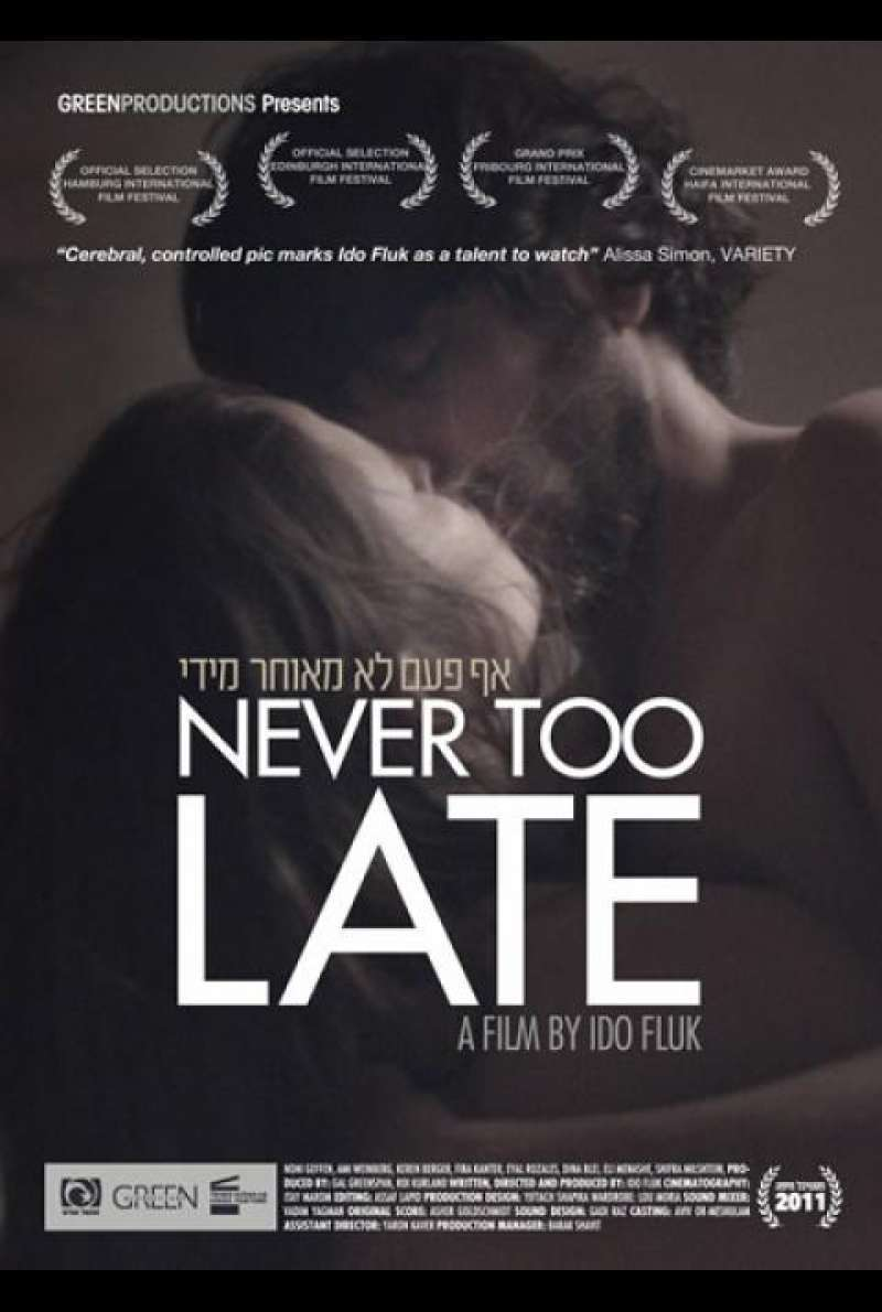 Never too Late - Filmplakat (INT)