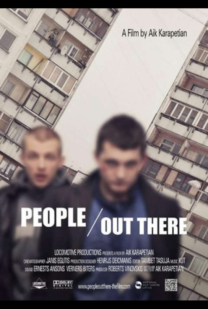 People out there - Filmplakat (INT)