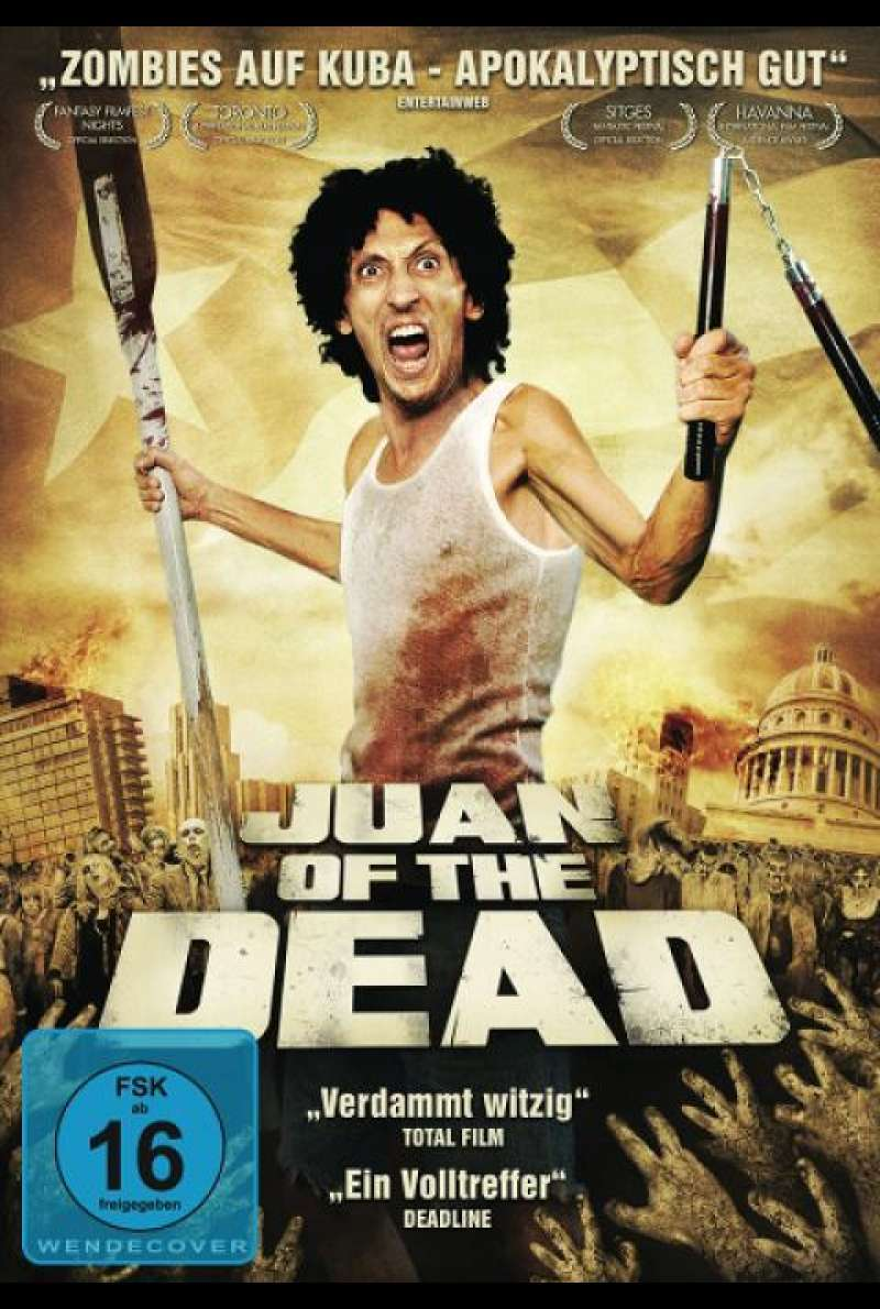 Juan of the Dead - DVD-Cover
