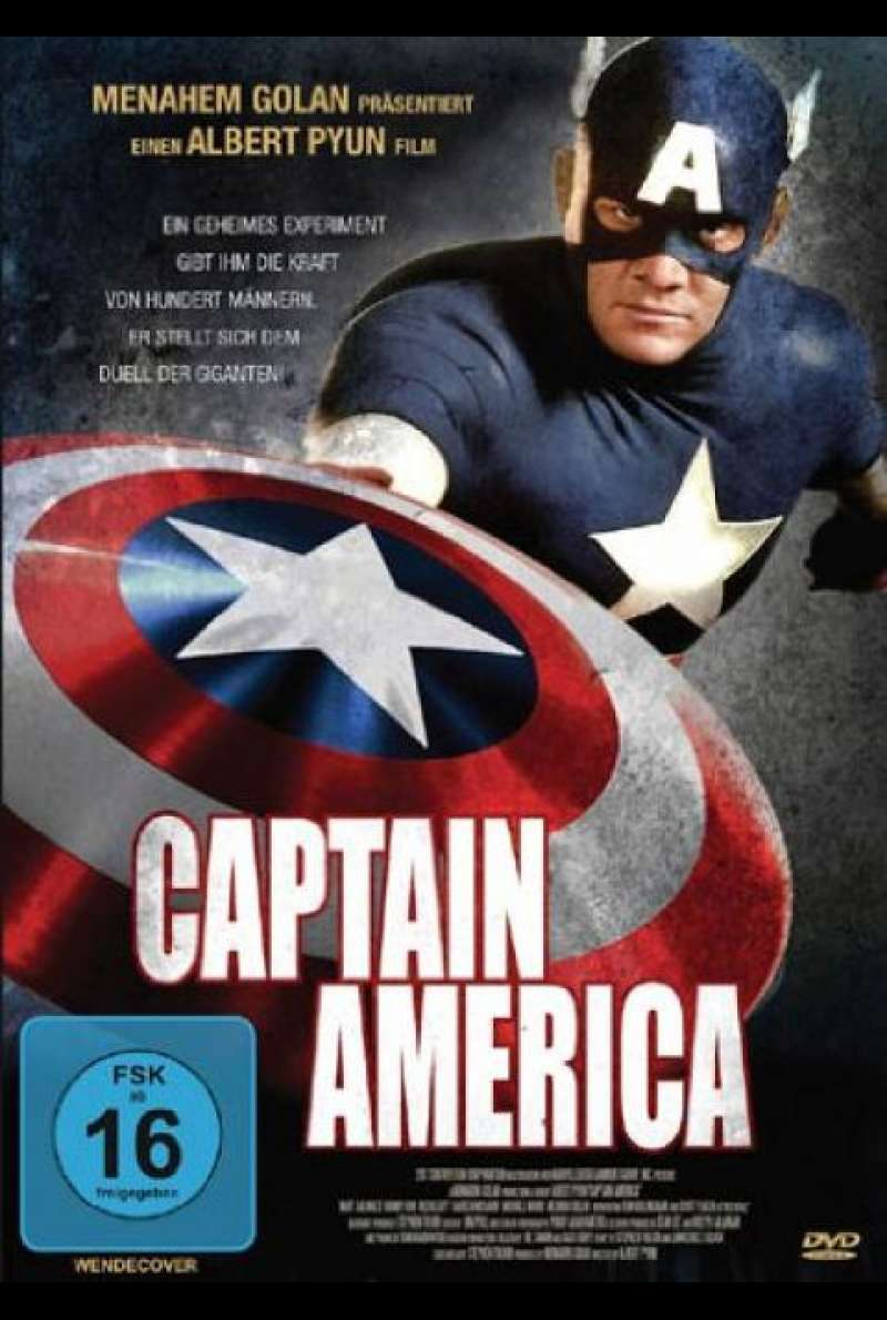 Captain America (1990) - DVD-Cover