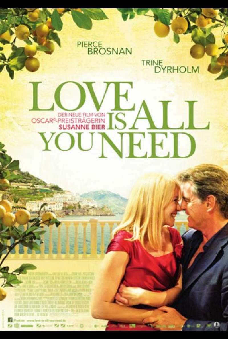 Love Is All You Need - Filmplakat
