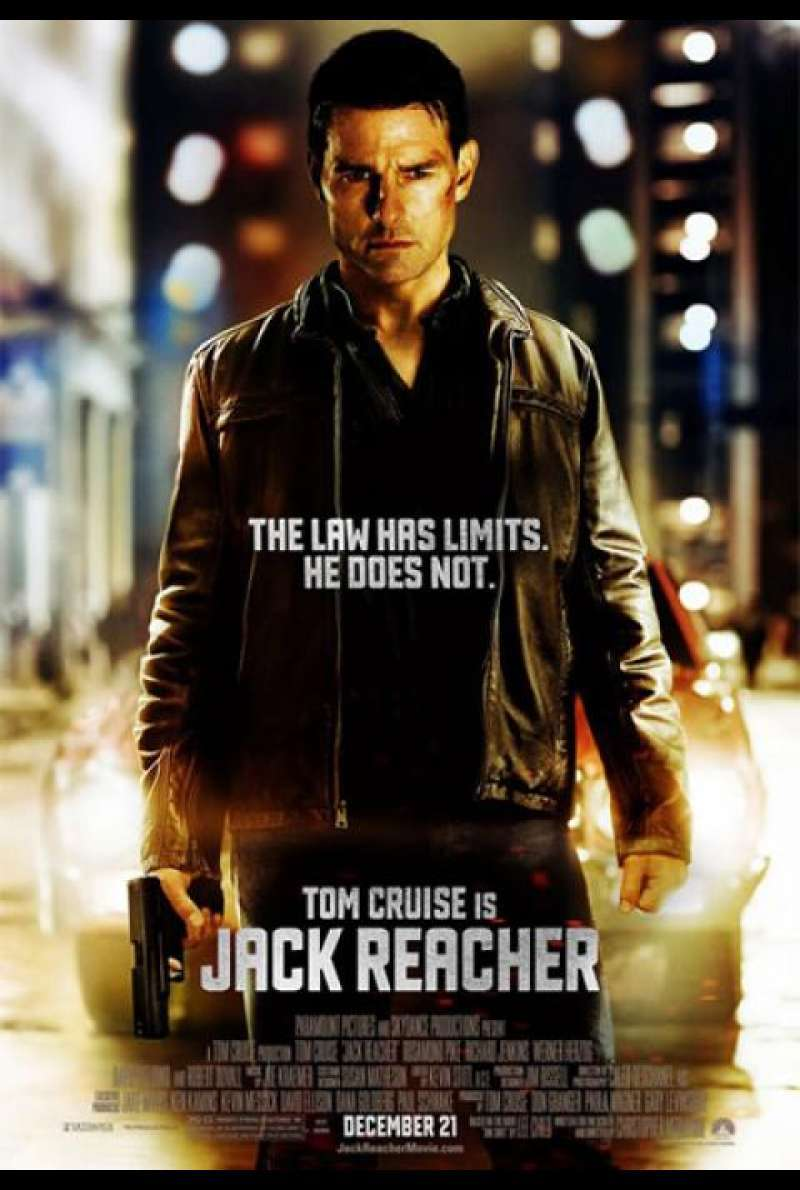 Jack Reacher - Filmplakat (US)