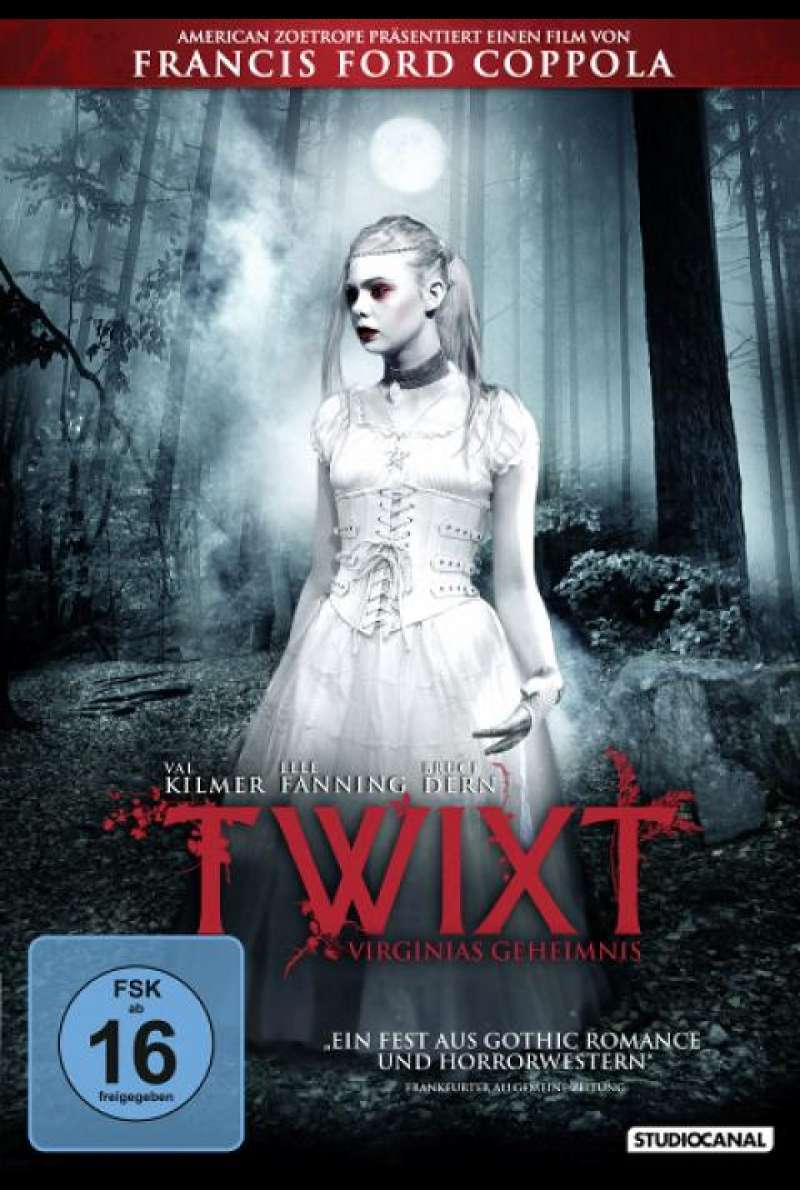 Twixt - Virginias Geheimnis - DVD-Cover