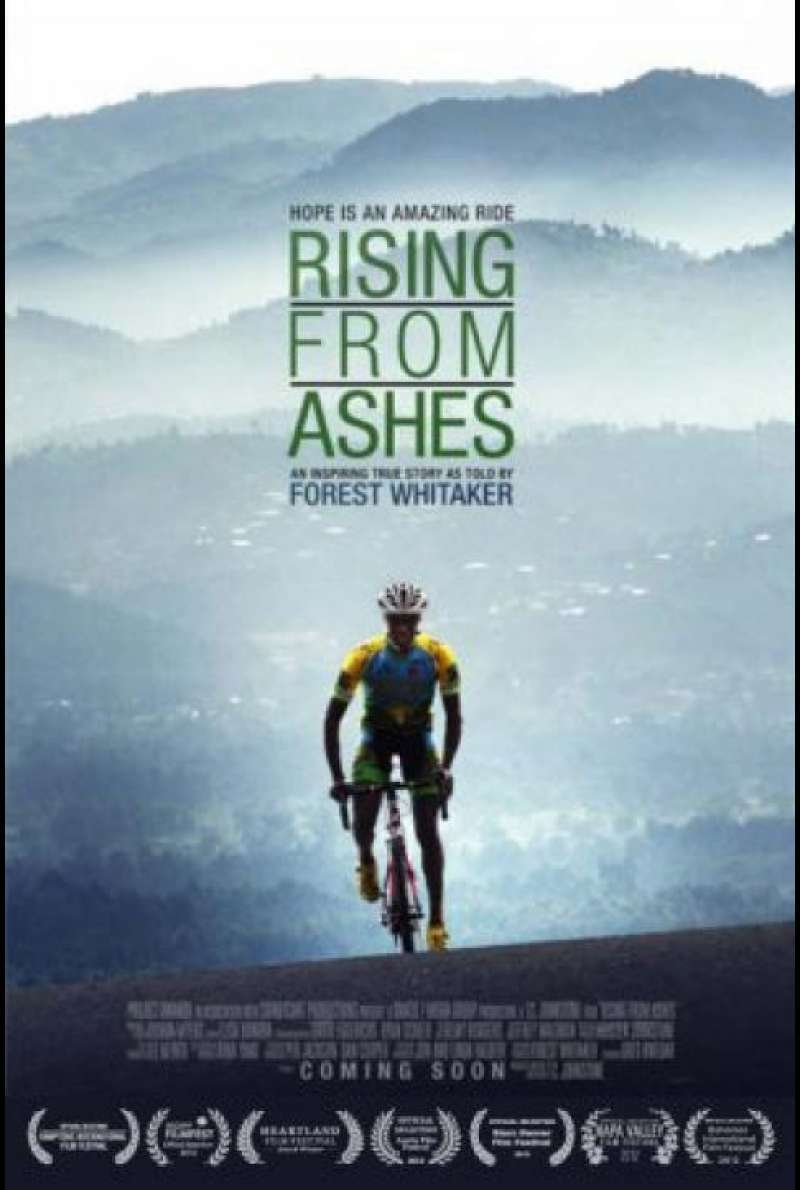 Rising from Ashes - Filmplakat (US)