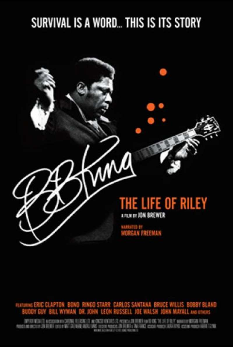 BB King: The Life of Riley - Filmplakat (GB)