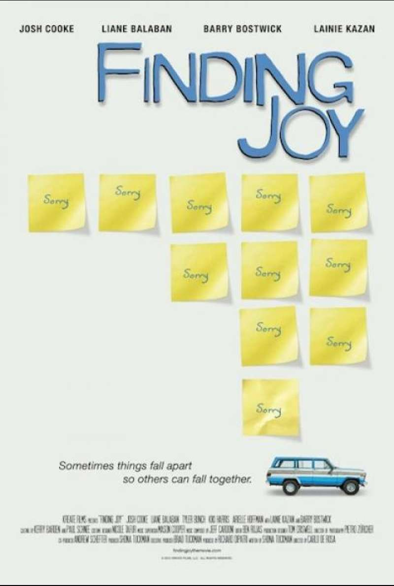 Finding Joy - Filmplakat (US)