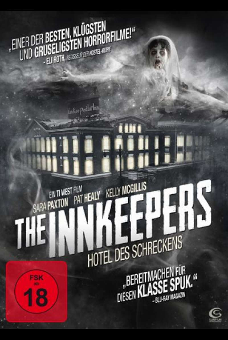 The Inkeepers - Hotel des Schreckens - DVD-Cover
