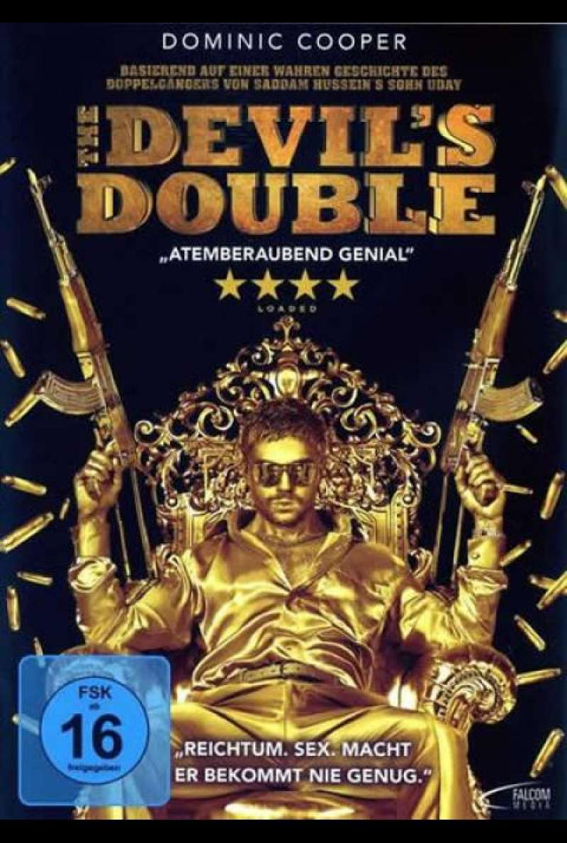 The Devil´s Double - DVD-Cover