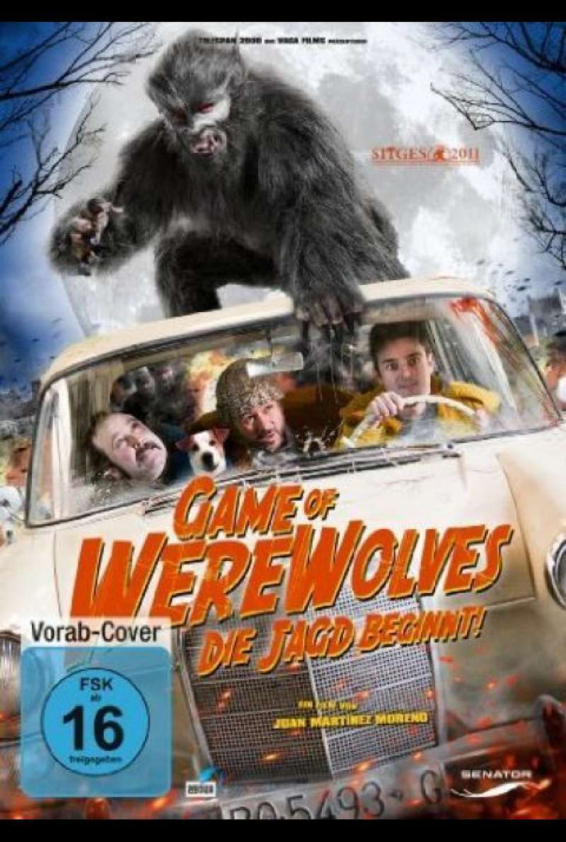 Game of Werewolves - DVD-Cover