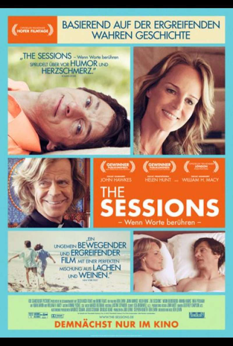 The Sessions - Filmplakat