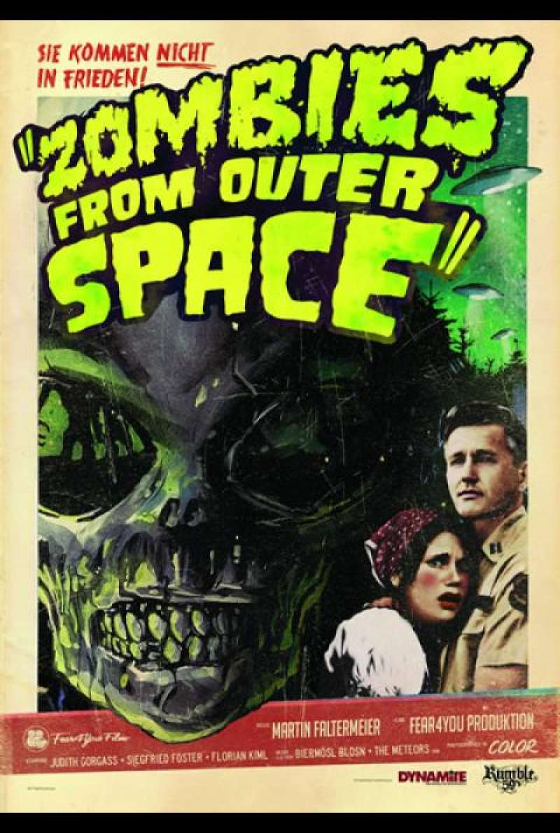 Zombies from Outer Space - Filmplakat
