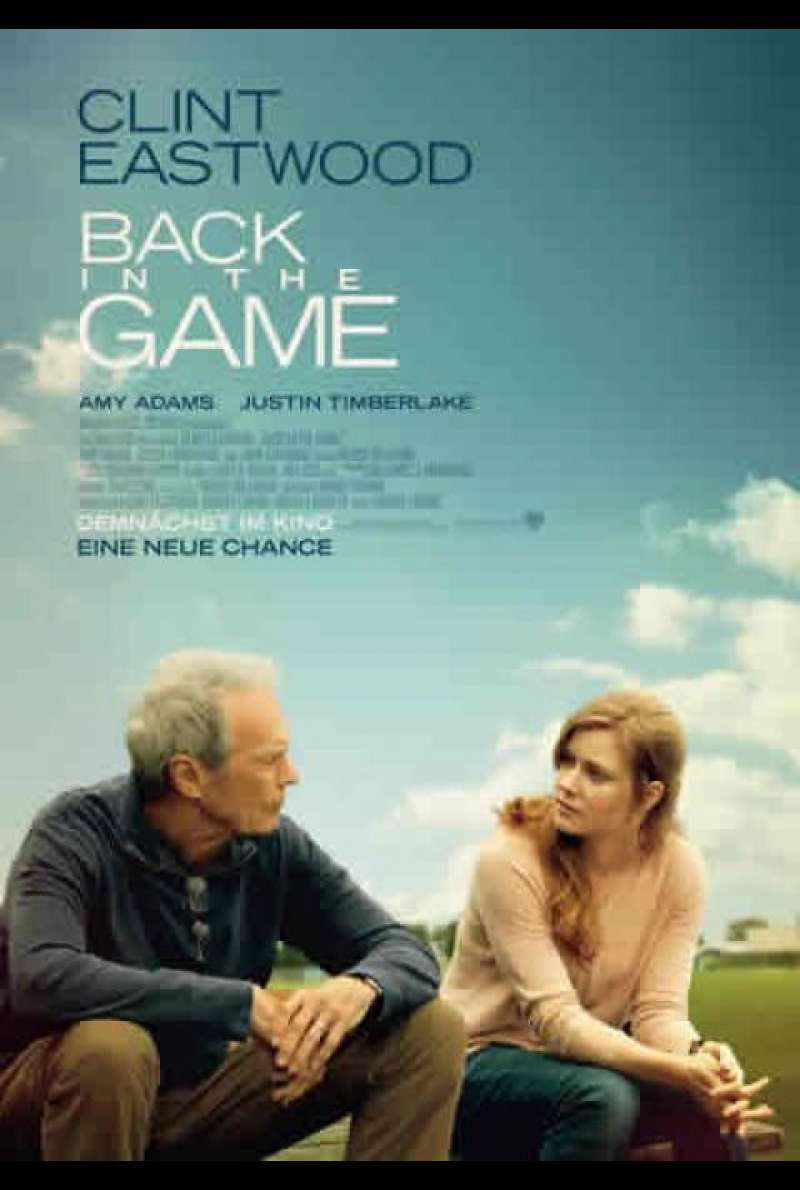 Back in the Game - Filmplakat