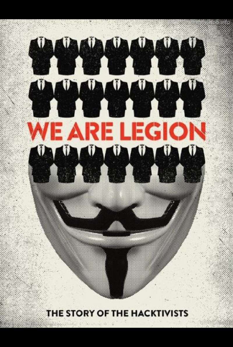 We Are Legion: The Story of the Hacktivists - Filmplakat (US)