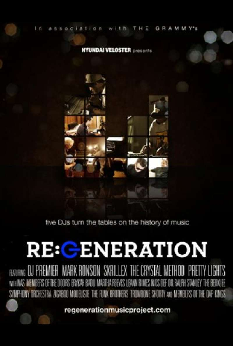 RE:GENERATION - Filmplakat (USA)